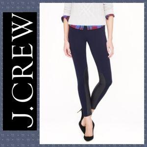 J. Crew Pixie Jodhpurs Leather Pants